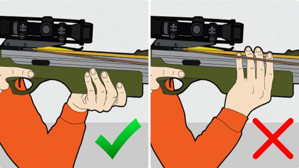 Техника безопасности при обращении с арбалетом.