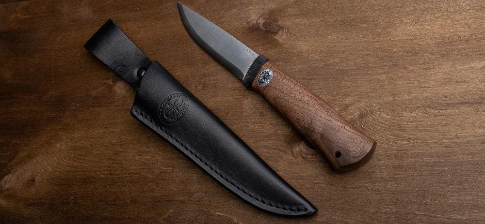 Фото охотничьего ножа Кузюк ножны