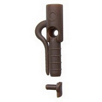 Клипса для грузил (10 шт.) COVERT MULTI CLIP BROWN, GARDNER ( CMLCb)