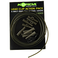 Клипса на трубке Korda Lead Clip Action Pack Weed (KLCAPW)