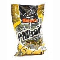 PMbaits BOILIES SOLUBLE MUSSEL 20 мм, 1 кг